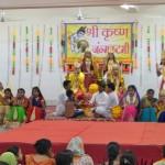 Janmashtmi Exhibiition of Dieties brahmakumaris, Madanpur Khadar