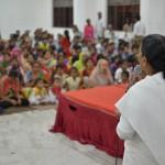 BK Usha explaining the spiritual secrets about Sri Krishna