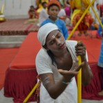 BK Sunil playing Sudama in a stage play