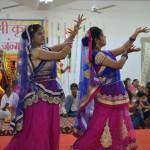 Sri Krishna praise demostrated beautifully in the graceful dance performance